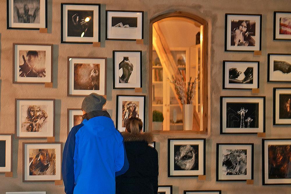 Linnea Frank exhibition Konstrundan 2016